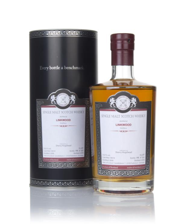 Linkwood 2008 (bottled 2018) - Malts of Scotland Single Malt Whisky