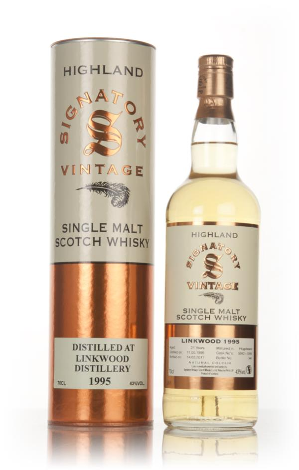 Linkwood 21 Year Old 1995 (casks 5943 & 5944) - Signatory Single Malt Whisky