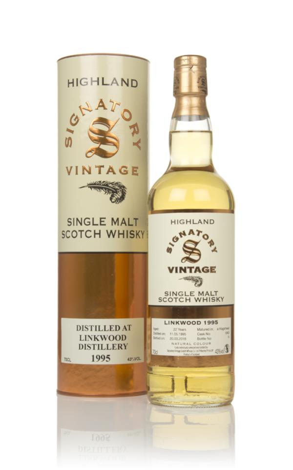 Linkwood 22 Year Old 1995 (cask 5963) - Signatory Single Malt Whisky