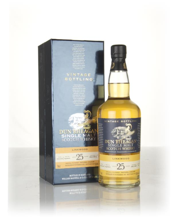 Linkwood 25 Year Old 1992 (casks 14862 & 14863) - Dun Bheagan (Ian Mac Single Malt Whisky