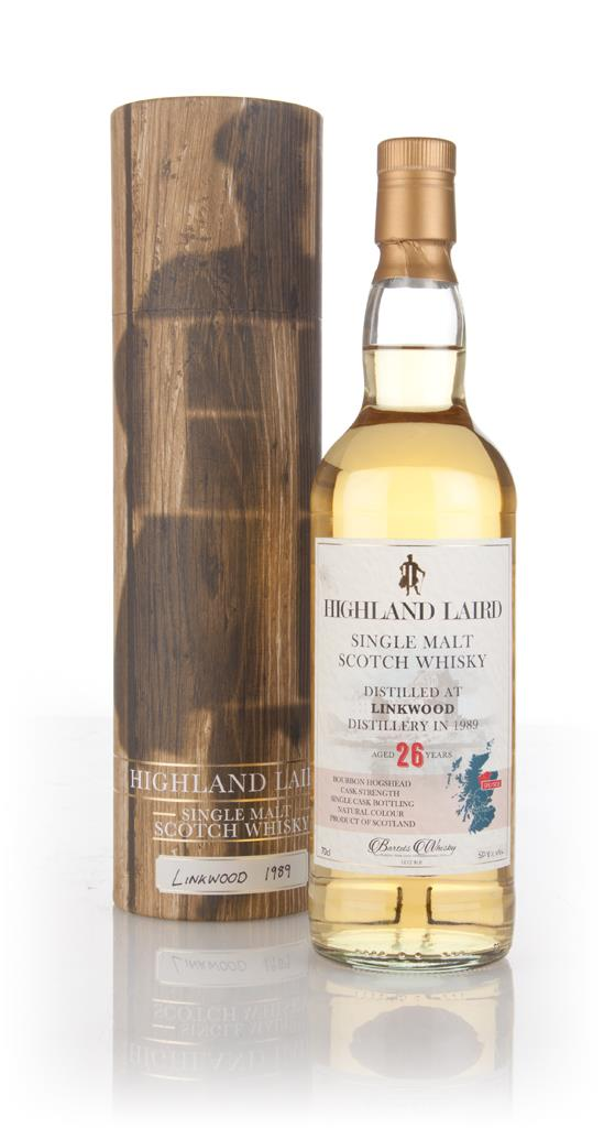 Linkwood 26 Year Old 1989 - Highland Laird (Bartels Whisky) Single Malt Whisky