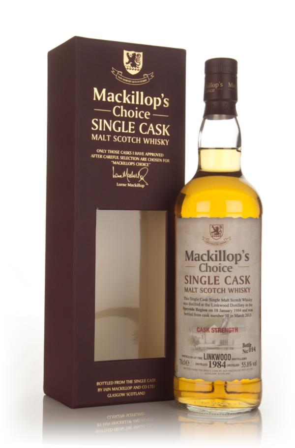 Linkwood 29 Year Old 1984 (cask 50) - Mackillops Choice 3cl Sample Single Malt Whisky