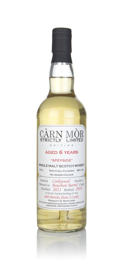 Linkwood 6 Year Old 2011 - Strictly Limited (Carn Mor) Single Malt Whisky