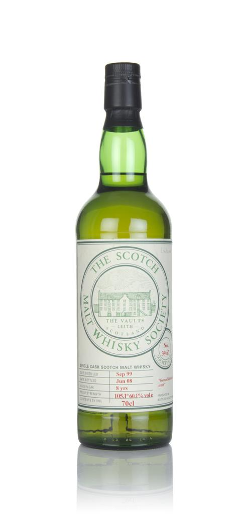 SMWS 39.67 8 Year Old 1999 Single Malt Whisky