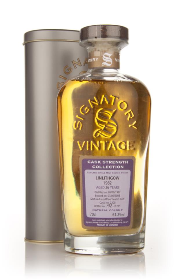 Linlithgow 26 Year Old 1982 - Cask Strength Collection (Signatory) Single Malt Whisky