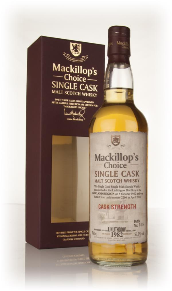 Linlithgow 28 Year Old 1982 (cask 2206) - Mackillop's Choice Single Malt Whisky