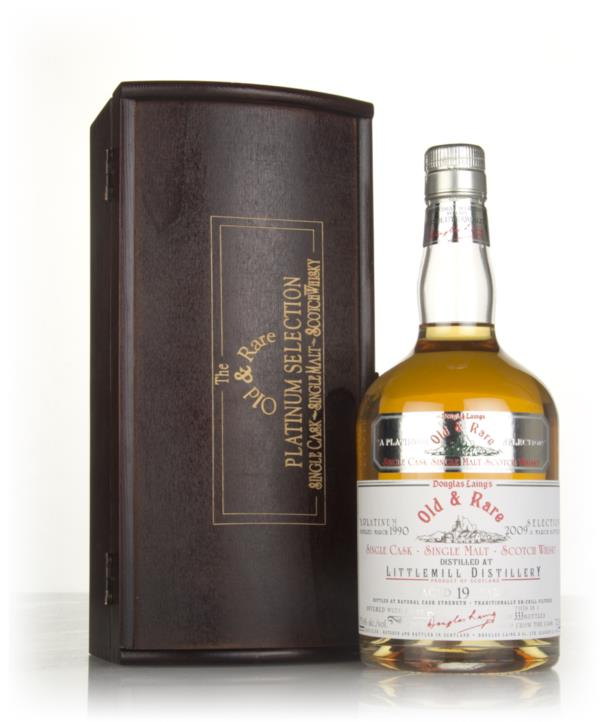 Littlemill 19 Year Old 1990 - Old & Rare Platinum (Douglas Laing) Single Malt Whisky