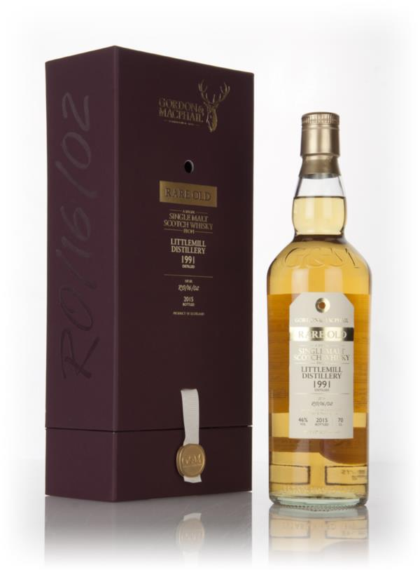 Littlemill 1991 (bottled 2015) (Lot No. RO/16/02) - Rare Old (Gordon & Single Malt Whisky