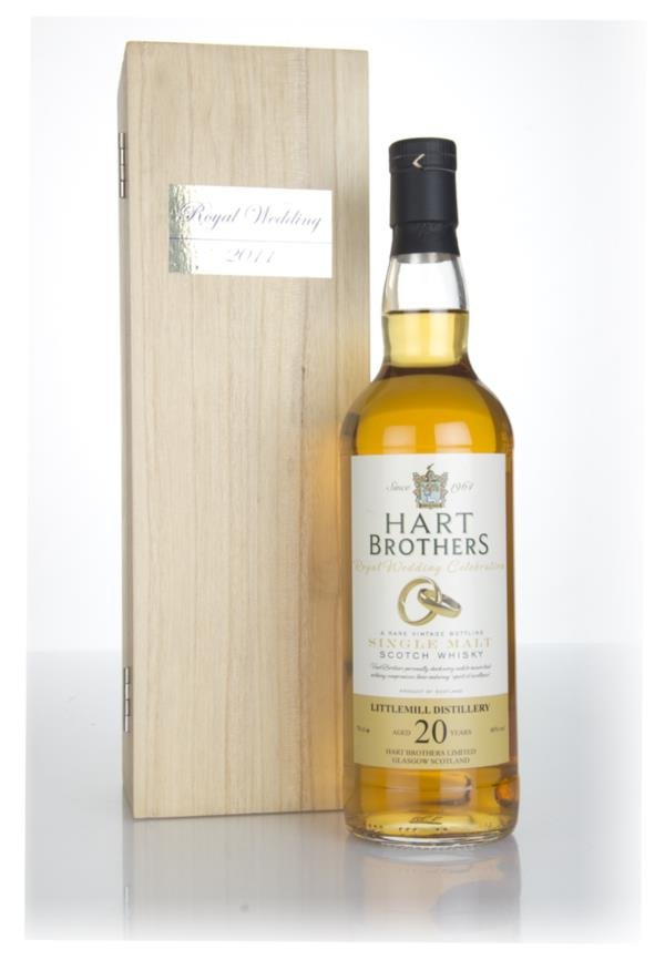 Littlemill 20 Year Old - Royal Wedding Celebration (Hart Brothers) Single Malt Whisky