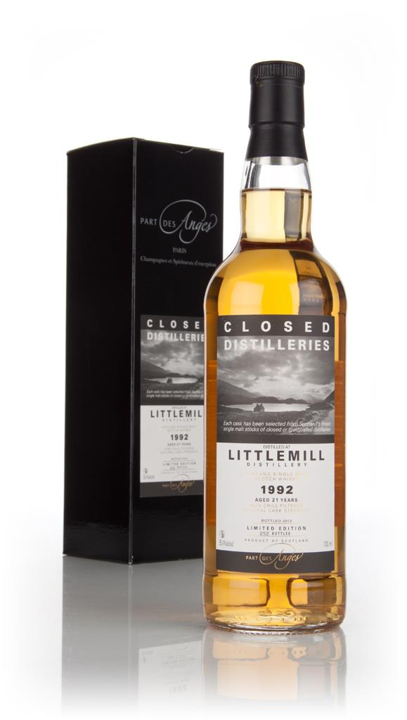 Littlemill 21 Year Old 1992 - Closed Distilleries (Part Des Anges) 3cl Single Malt Whisky 3cl Sample