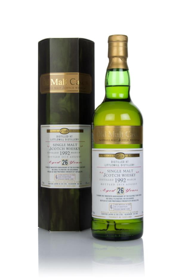 Littlemill 26 Year Old 1992 - Old Malt Cask (Hunter Laing) Single Malt Whisky