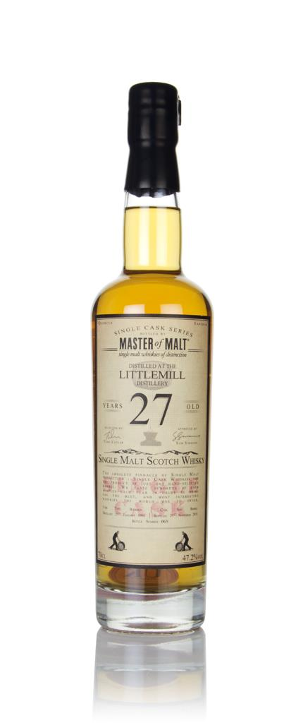 Littlemill 27 Year Old 1991 - Single Cask (Master of Malt) Single Malt Whisky