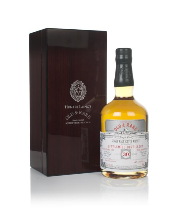 Littlemill 30 Year Old 1988 - Old & Rare Platinum (Hunter Laing) Single Malt Whisky