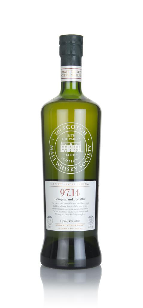SMWS 97.14 18 Year Old 1990 Single Malt Whisky