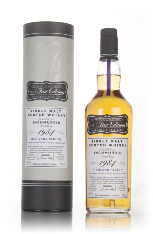 Inchmurrin 32 Year Old 1984 (cask 13363) - The First Editions (Hunter Single Malt Whisky