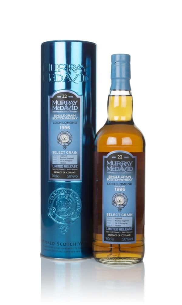 Loch Lomond 22 Year Old 1996 (cask 182963) - Select Grain (Murray McDa Grain Whisky