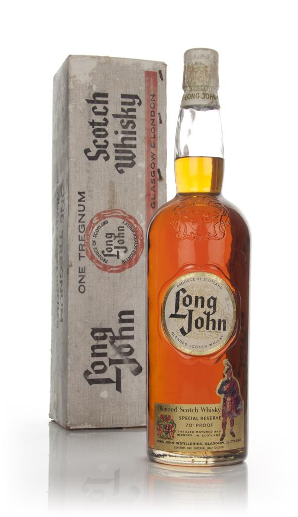 Long John Blended Scotch Whisky - 1960s Blended Whisky