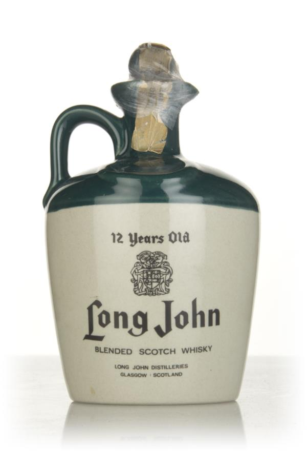 Long John 12 Year Old Ceramic Jug (1L) - 1970s Blended Whisky