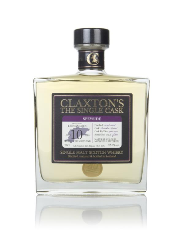 Longmorn 10 Year Old 2008 - Claxtons Single Malt Whisky