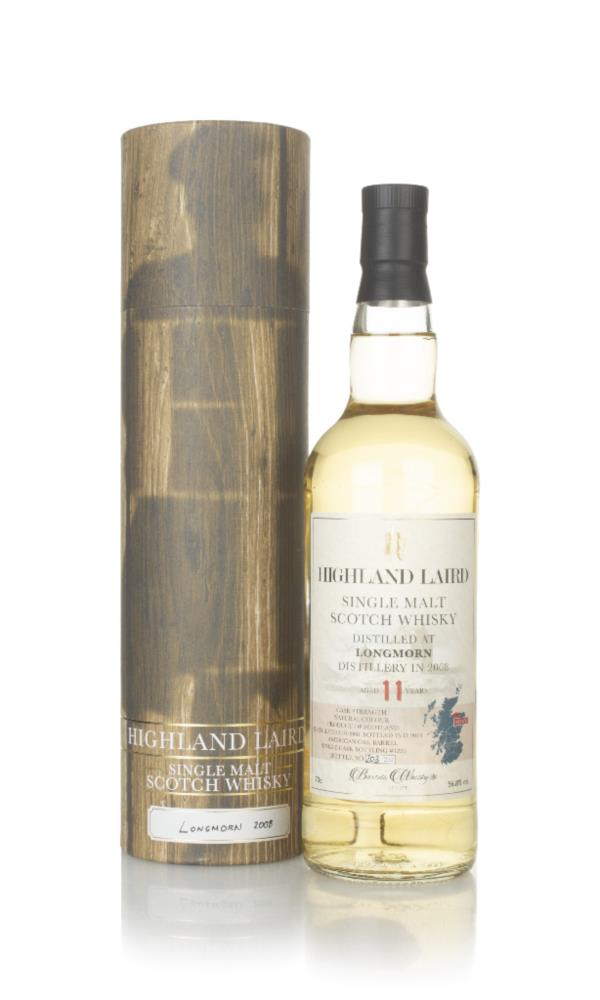 Longmorn 11 Year Old 2008 (cask 1229) - Highland Laird (Bartels Single Malt Whisky