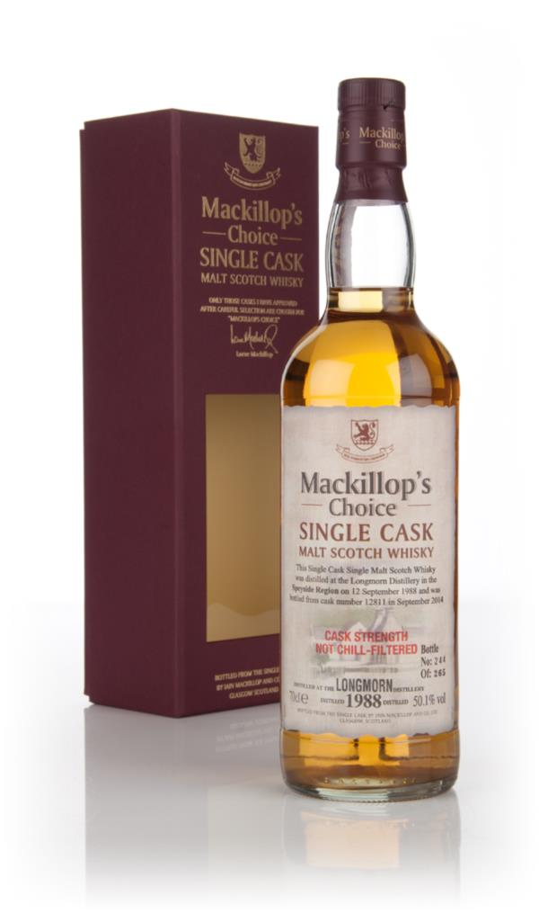 Longmorn 1988 (bottled 2014) (cask 12811) - Mackillops Choice Single Malt Whisky
