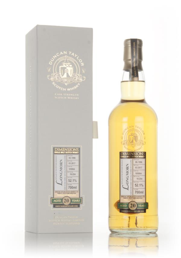 Longmorn 20 Year Old 1996 (cask 105064) - Dimensions (Duncan Taylor) Single Malt Whisky
