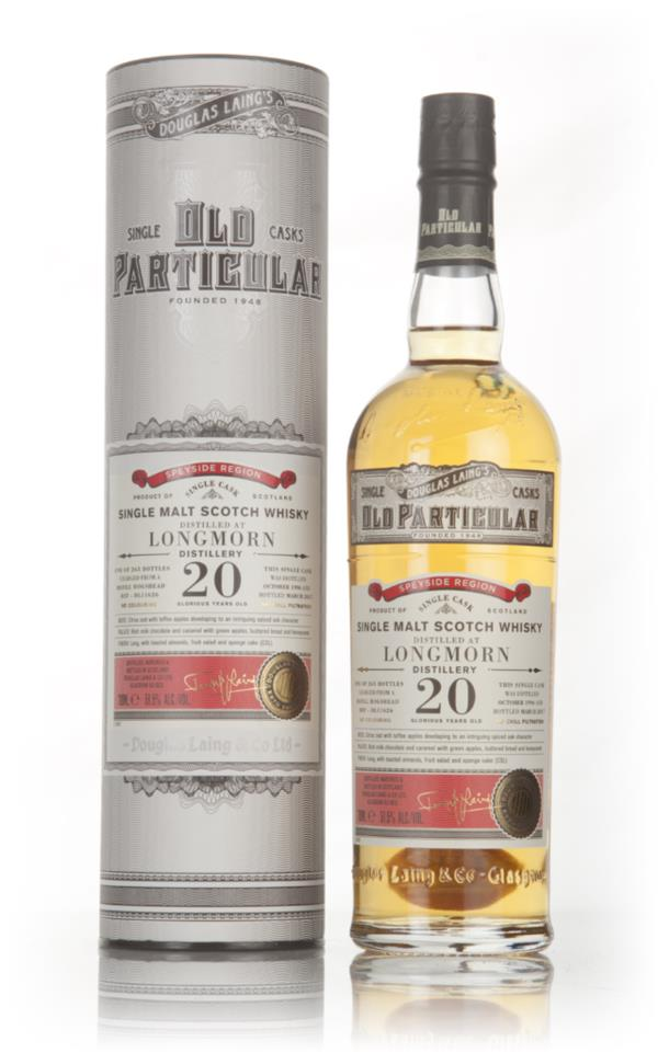 Longmorn 20 Year Old 1996 (cask 11626) - Old Particular (Douglas Laing Single Malt Whisky
