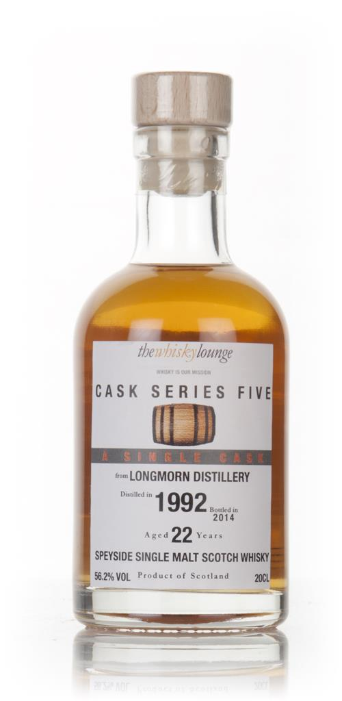 Longmorn 22 Year Old 1992 - Cask Series Five (The Whisky Lounge) Single Malt Whisky