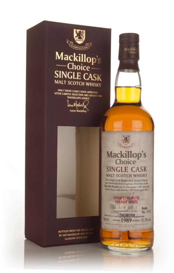 Longmorn 23 year old 1989 (cask 18772) - Mackillops Choice 3cl Sample Single Malt Whisky