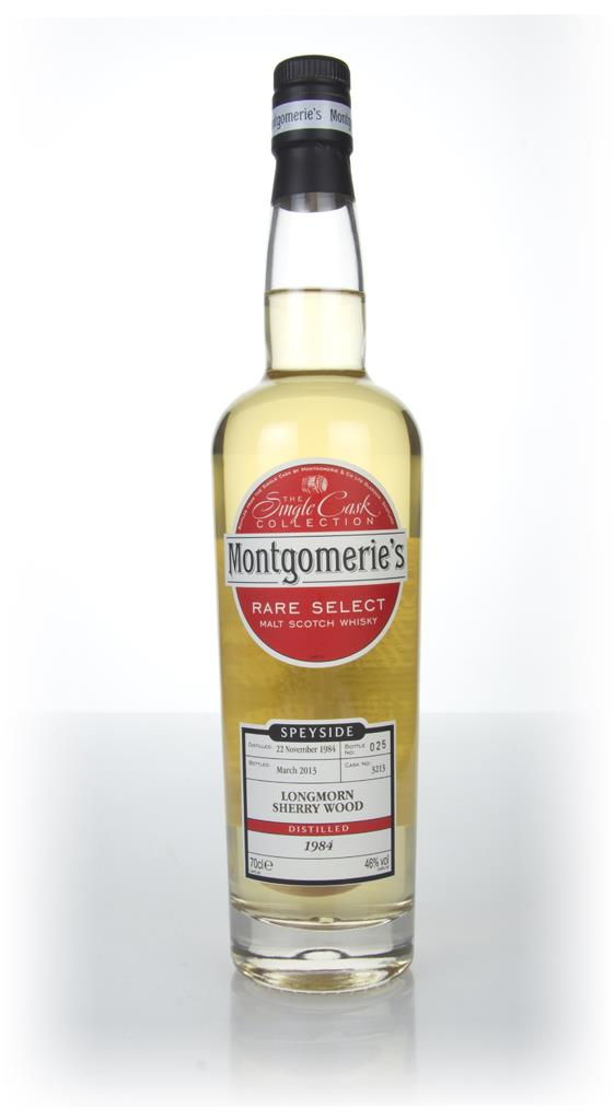Longmorn 28 Year Old 1984 (cask 3213) - Rare Select (Montgomeries) Single Malt Whisky
