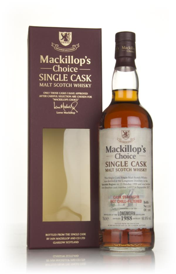Longmorn 28 Year Old 1988 (cask 14357) - Mackillops Choice Single Malt Whisky
