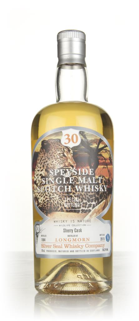 Longmorn 30 Year Old 1984 (cask 3212) - Whisky is Nature (Silver Seal) Single Malt Whisky