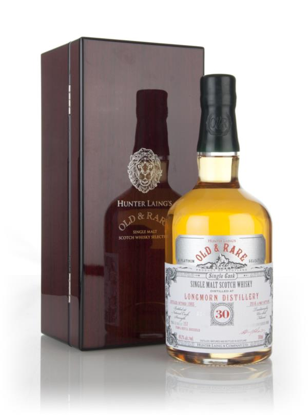 Longmorn 30 Year Old 1985 - Old & Rare Platinum (Hunter Laing) 3cl Sam Single Malt Whisky 3cl Sample