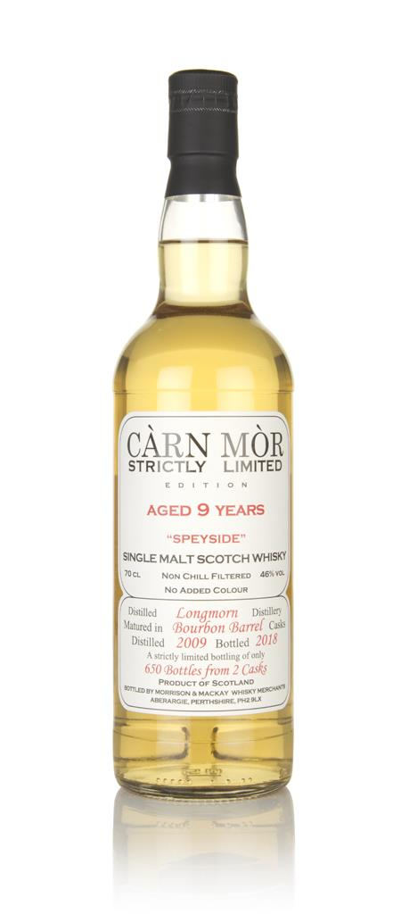 Longmorn 9 Year Old 2009 - Strictly Limited (Carn Mor) Single Malt Whisky