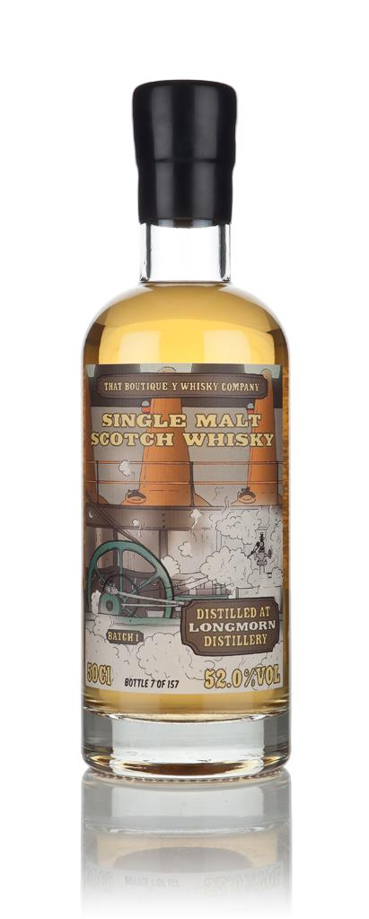 Longmorn - Batch 1 (That Boutique-y Whisky Company) 3cl Sample Single Malt Whisky