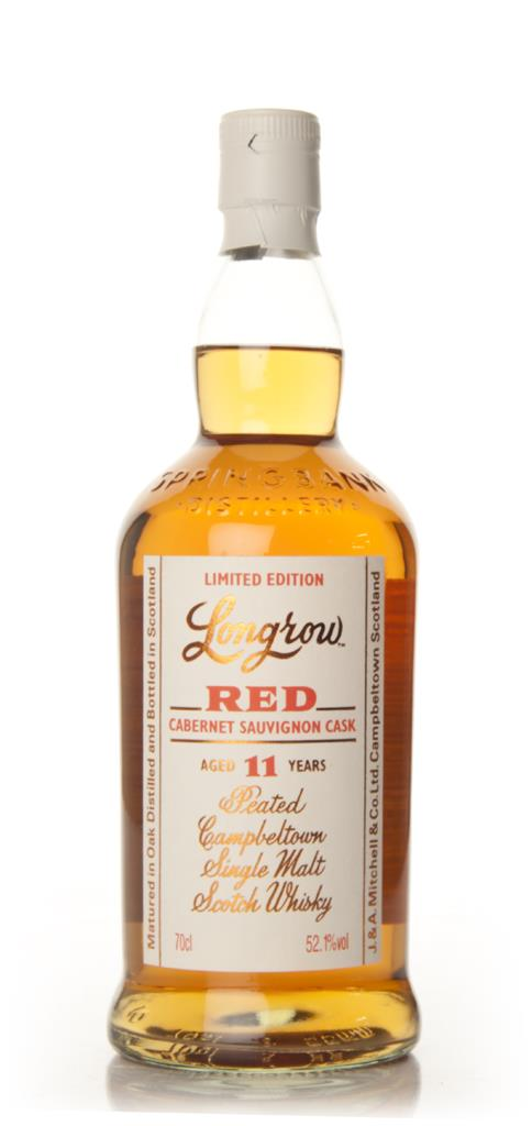 Longrow Red 11 Year Old - Cabernet Sauvignon Cask Single Malt Whisky