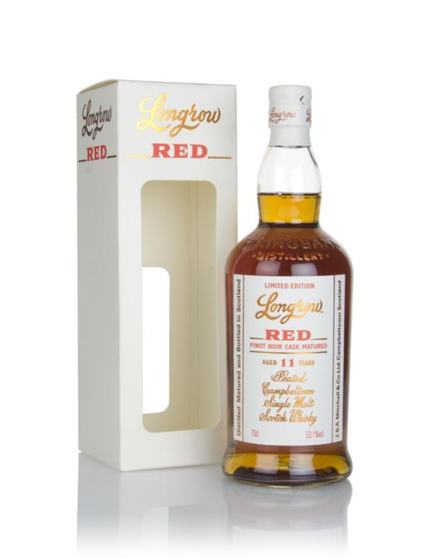 Longrow Red 11 Year Old - Pinot Noir Cask Finish Single Malt Whisky
