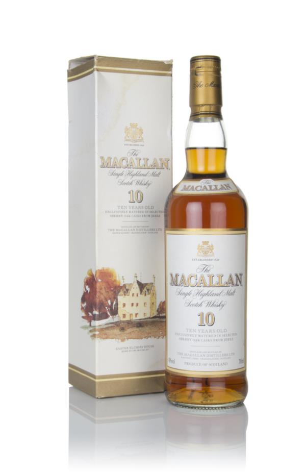The Macallan 10 Year Old (Old Label) Single Malt Whisky