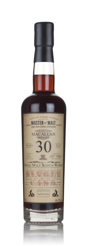 Macallan 30 Year Old 1986 - Single Cask (Master of Malt) 3cl Sample Single Malt Whisky