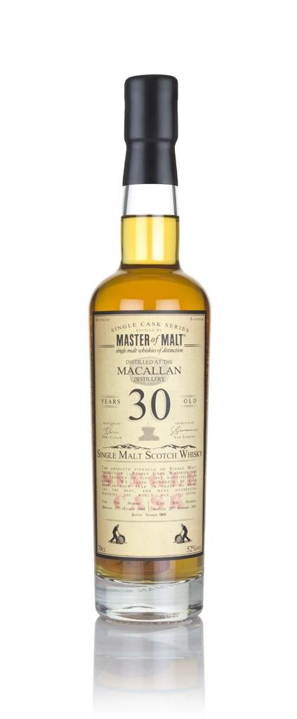 Macallan 30 Year Old 1988 - Single Cask (Master of Malt) Single Malt Whisky