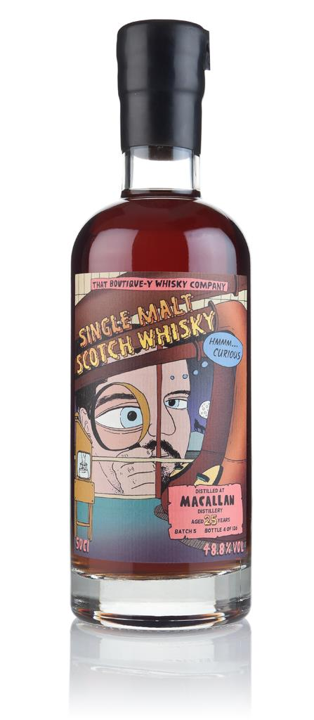 Macallan 25 Year Old - Batch 5 (That Boutique-y Whisky Company) 3cl Sa Single Malt Whisky 3cl Sample