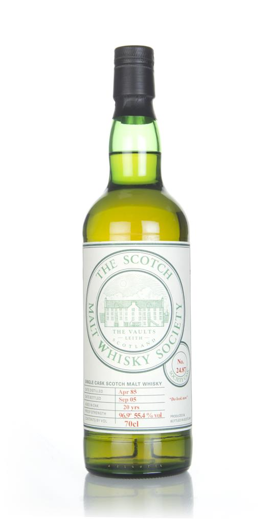 SMWS 24.87 20 Year Old 1985 Single Malt Whisky