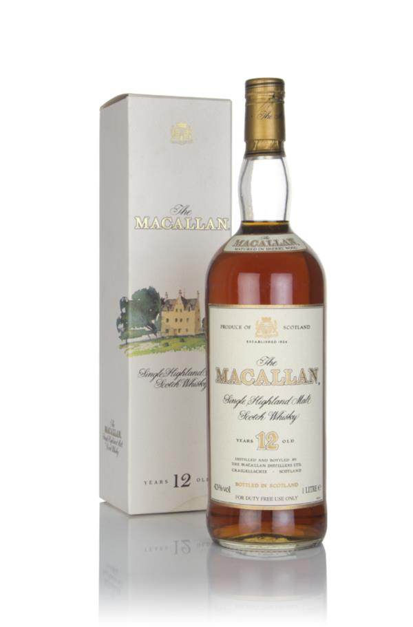The Macallan 12 Year Old (1L) - 1980s Single Malt Whisky