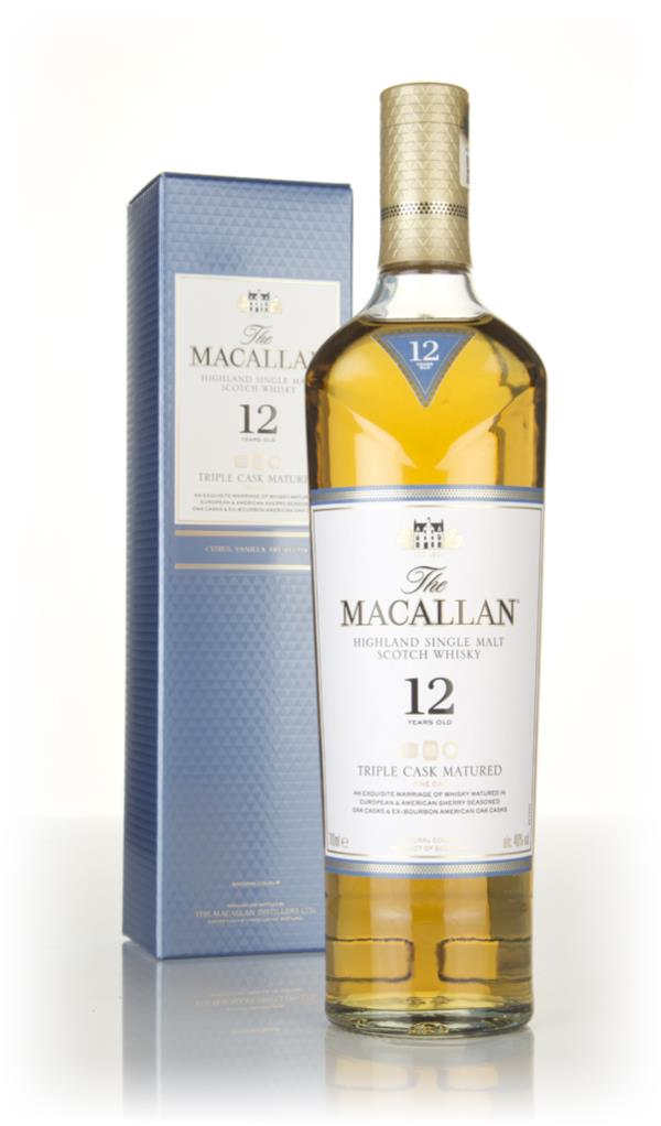 The Macallan 12 Year Old Triple Cask Single Malt Whisky
