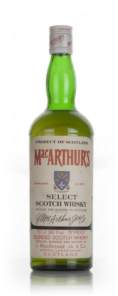 MacArthurs Select - 1970s Blended Whisky