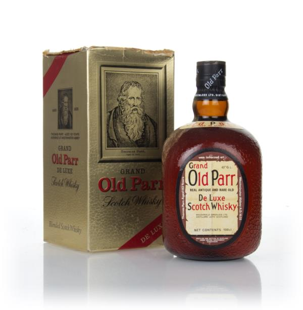 Grand Old Parr (1L) - 1970s Blended Whisky