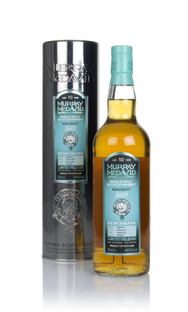 Macduff 10 Year Old 2007 (cask 900594) - Benchmark (Murray McDavid) Single Malt Whisky