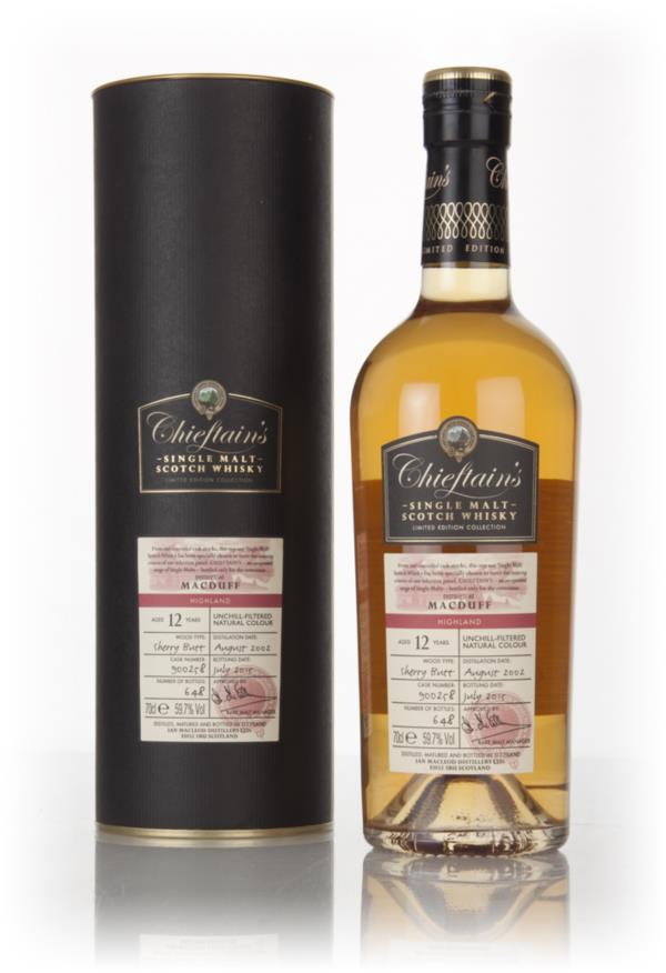Macduff 12 Year Old 2002 (cask 900258) - Chieftain's (Ian Macleod) Single Malt Whisky