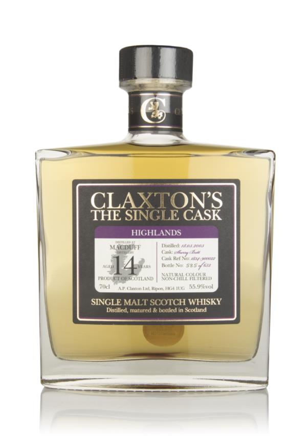 Macduff 14 Year Old 2003 - Claxtons Single Malt Whisky
