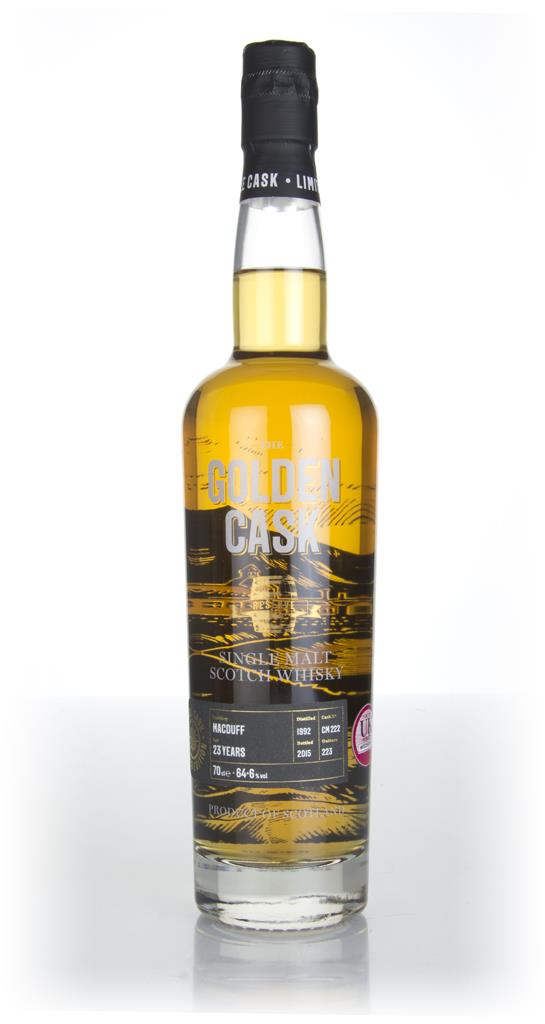 Macduff 23 Year Old 1992 (cask CM222) - The Golden Cask (House of Macd Single Malt Whisky
